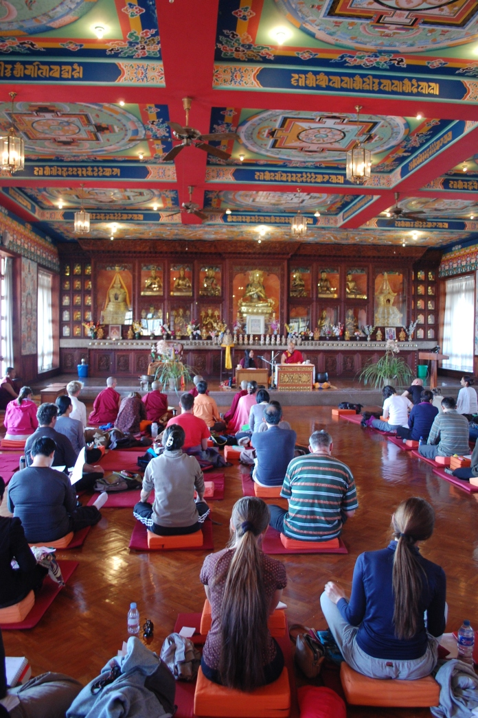 Rigpe Dorje Institue Meditation Class